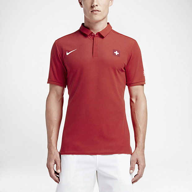 ece7e44c NikeCourt Roger Federer Advantage Men's Tennis Polo.