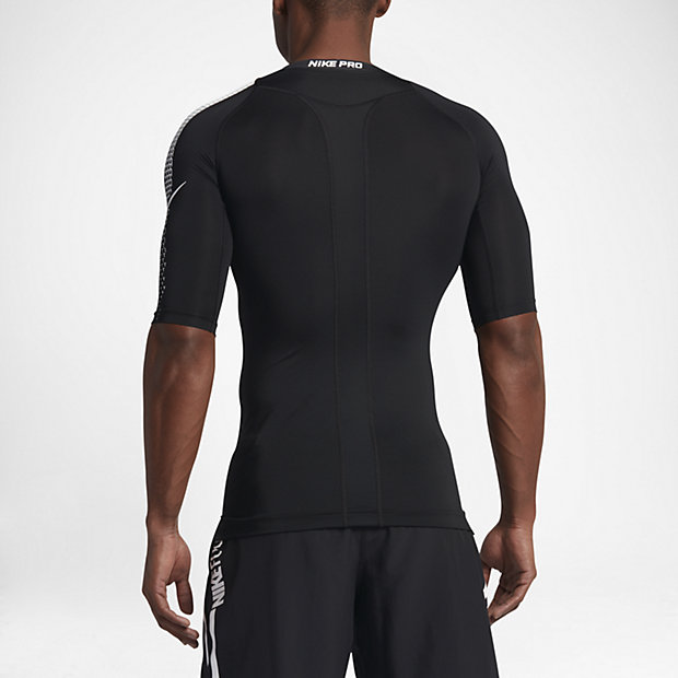 Nike Pro Men's Half Sleeve Football Top.
