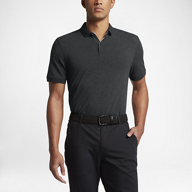 Nike Transition Dry Wool Men's Slim Fit Golf Polo.