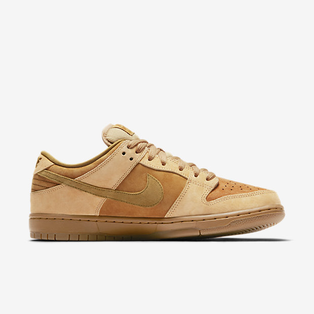 Nike SB Dunk Low Pro 'Wheat' Men's Skateboarding Shoe.