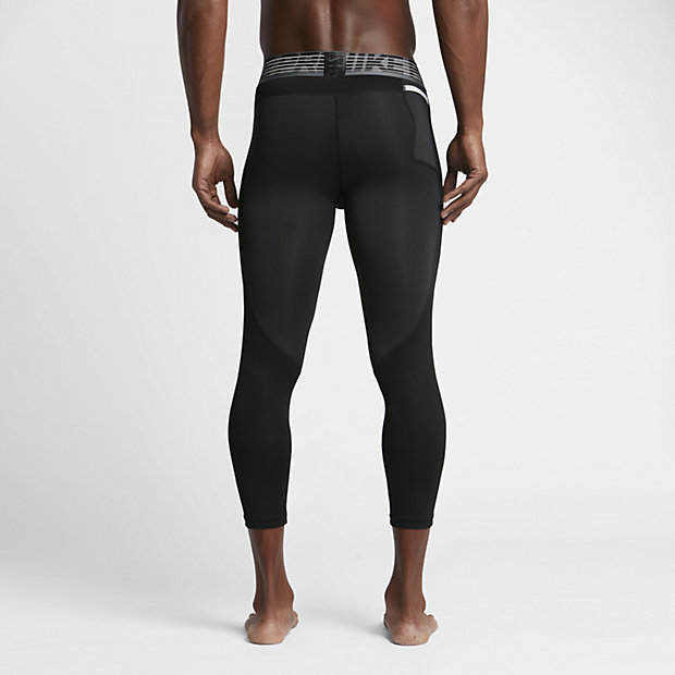 Nike Pro HyperCool Men's 3/4 Basketball Tights.